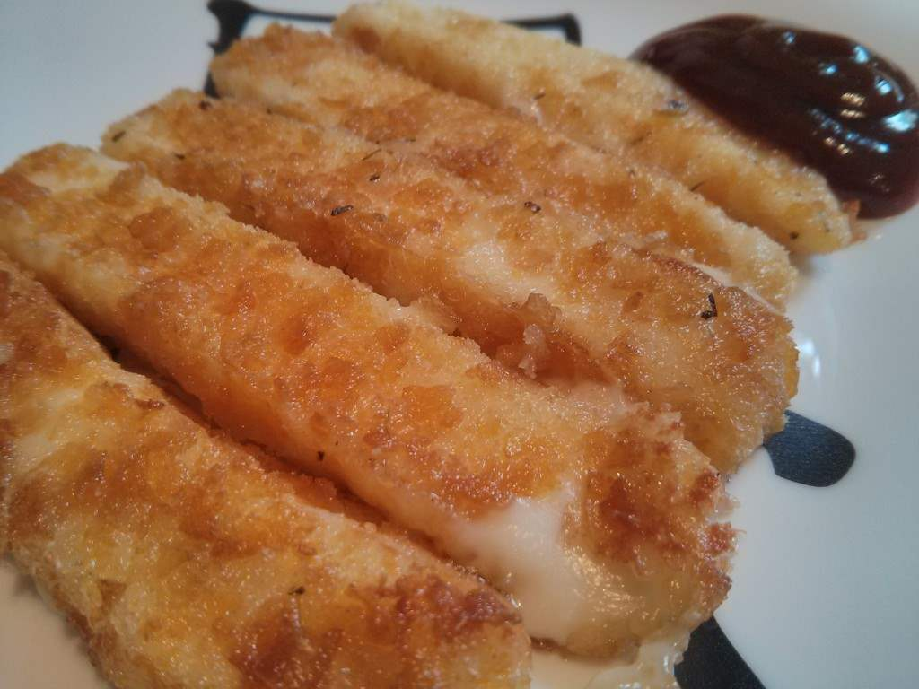 Fingers de mozzarella