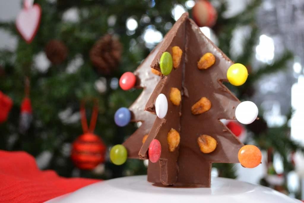 Arbol de chocolate con kikos