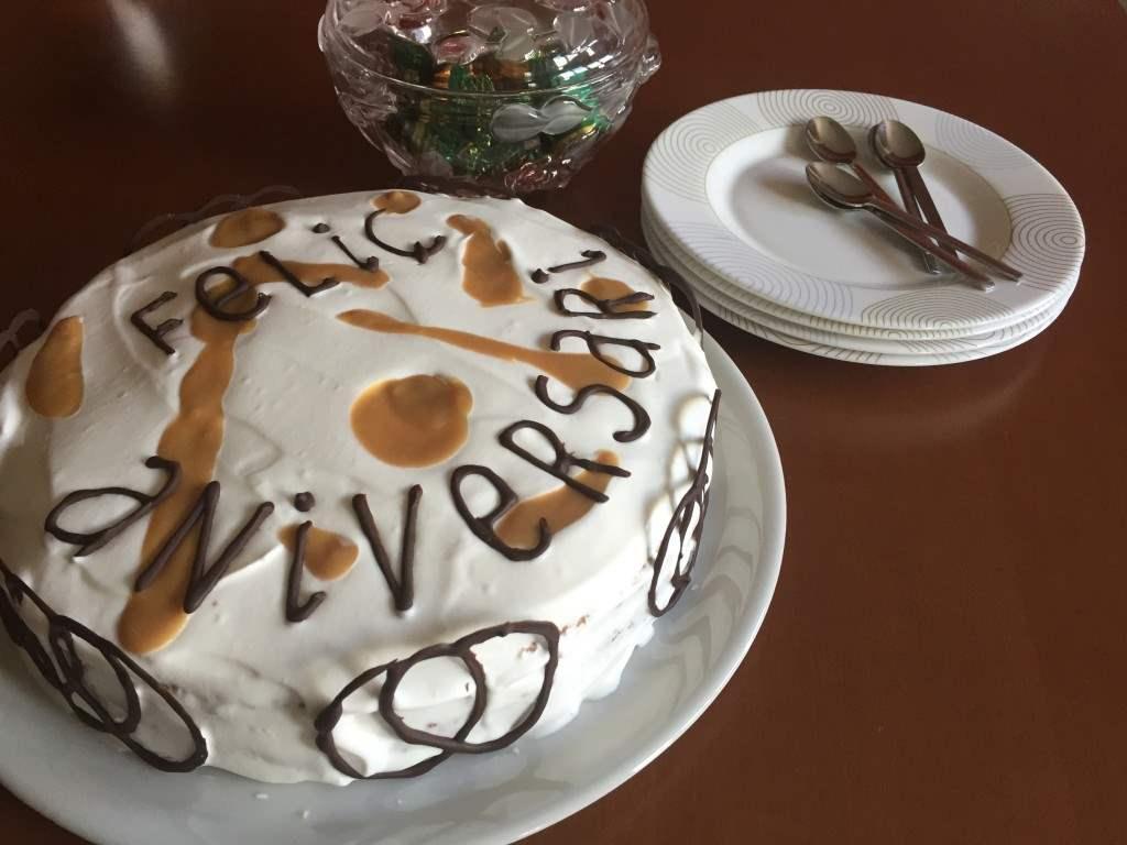 Tarta de dulce de leche y semillas de amapola 2
